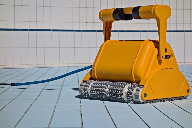 ビルを清掃するロボット