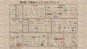 不動産テックカオスマップが第4版に更新。2018年11月28日版が公開