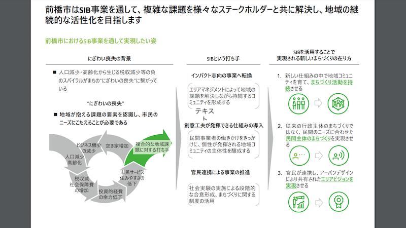 成果報告「モデル事業の概要説明」(有限責任監査法人トーマツ)の資料